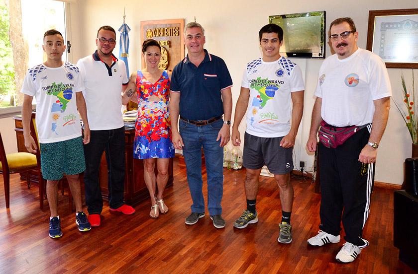 Comienza el Seminario y Torneo Mercosur de Taekwondo