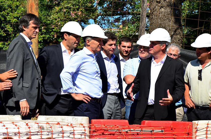 Histórica visita de Macri a Bella Vista