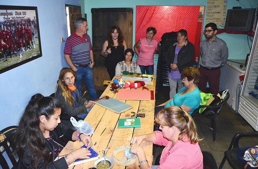 Actividades institucionales del intendente Chavez