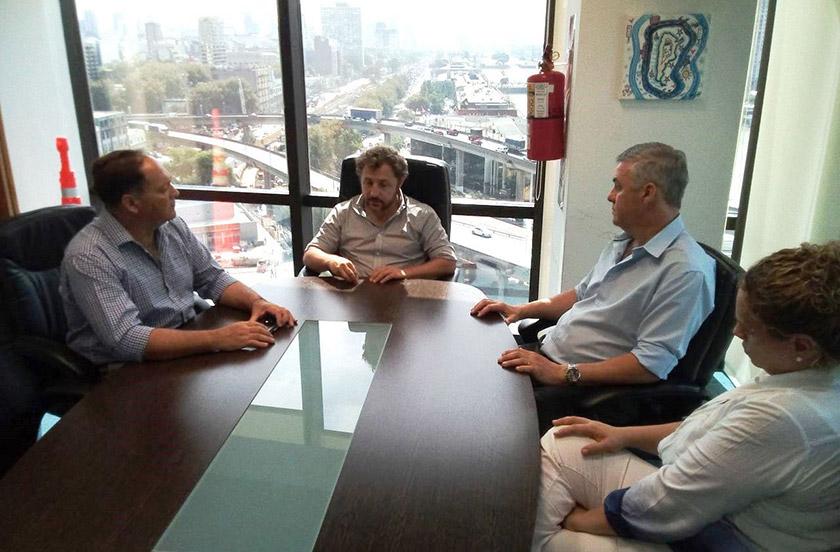 Chavez subrayó la relación con la ANSV