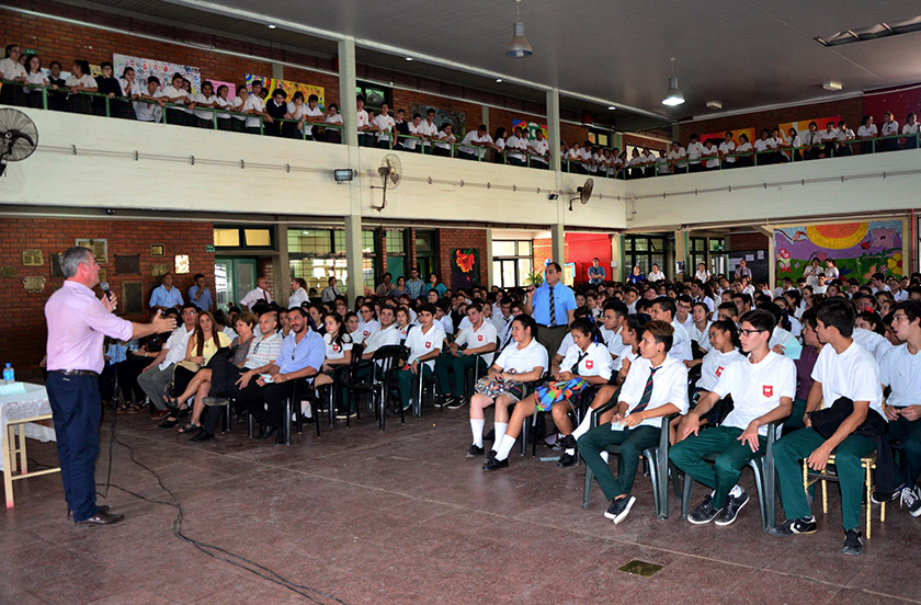 Presentaron el programa de Presupuesto Participativo Joven 2018