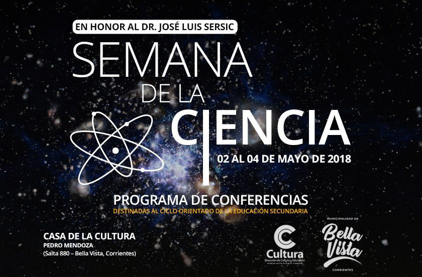 Anticipan programa de la Semana de la Ciencia