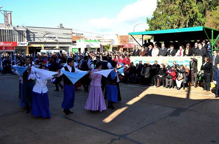 Bella Vista festejó el Día de la Independencia Nacional