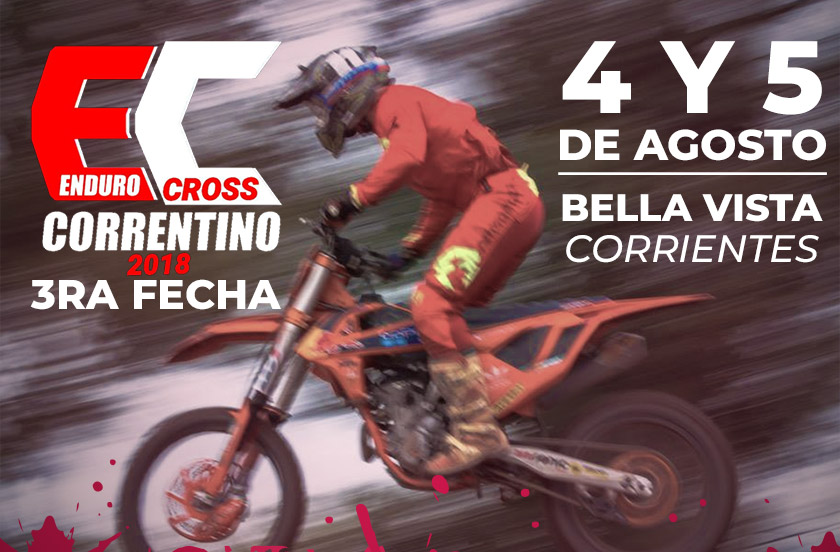 Confirman el Enduro Cross Correntino en Bella Vista