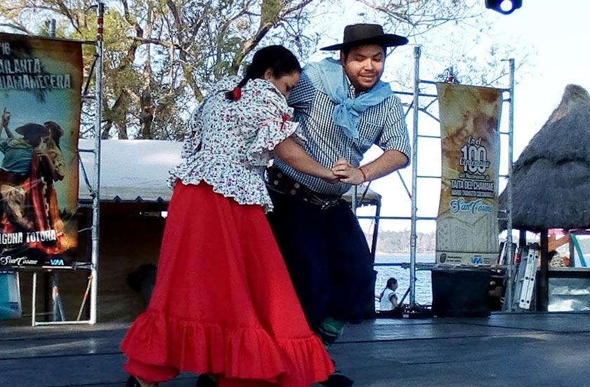 El Ballet Folclórico de Bella Vista protagonista en San Cosme
