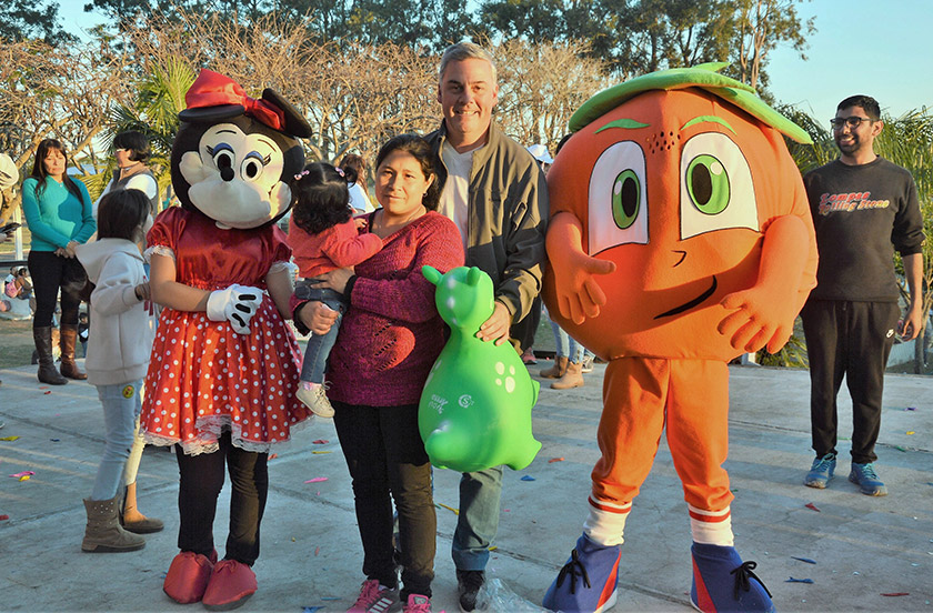 Bella Vista celebró el Día del Niño con una mega fiesta