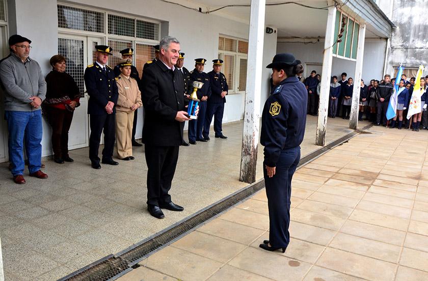 Autoridades festejan el Día de la Policía de Corrientes