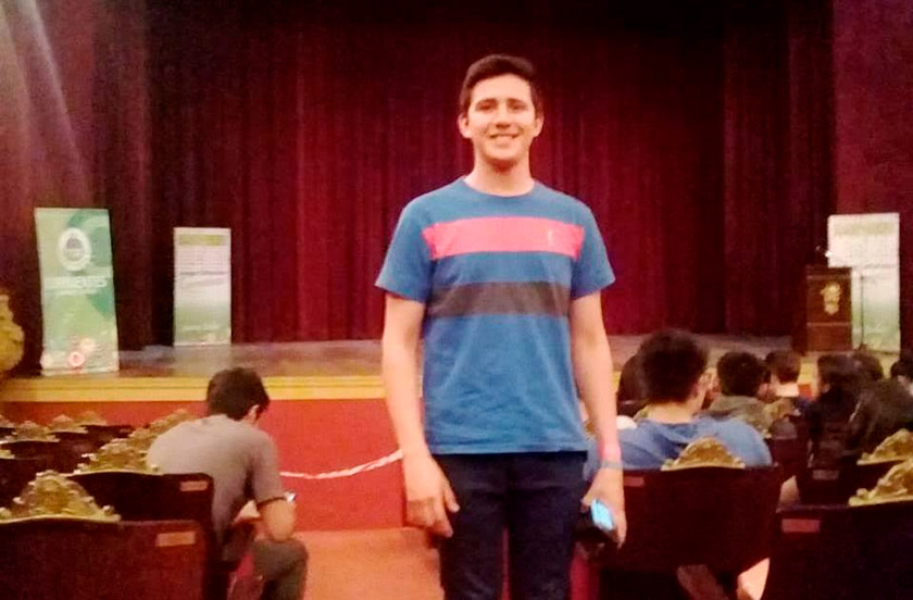 Alumno de la Escuela Técnica viajará a los Juegos Nacionales de Mar del Plata
