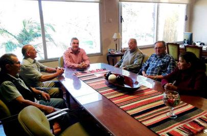 Chavez recibió a la Comisión Directiva del Centro de Jubilados