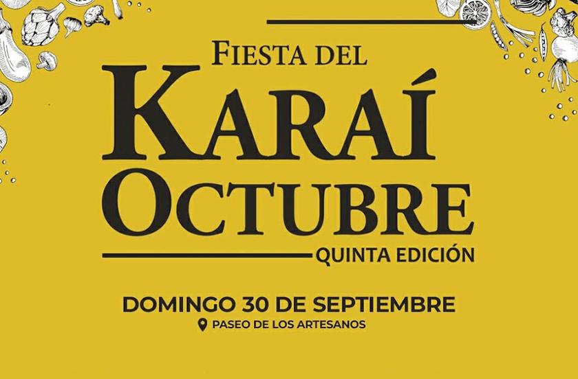 Anticipan la quinta edición del Karaí Octubre