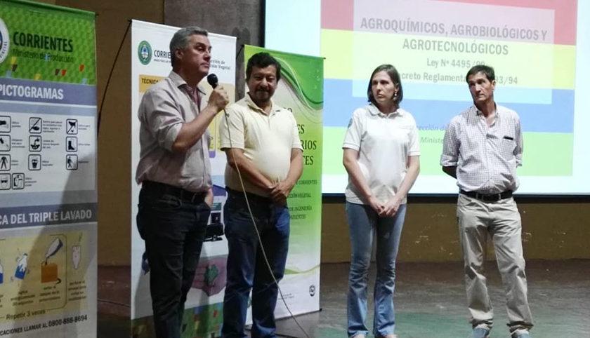 Capacitan a profesionales de la agronomía en nuevas prácticas agrícolas