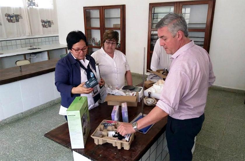 El Presupuesto Participativo entregó elementos en el Colegio Itatí