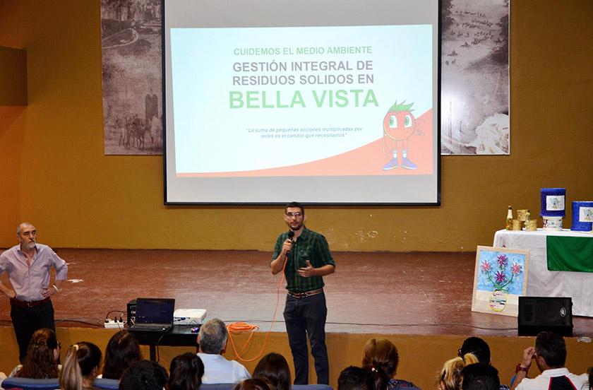 Presentaron resultados del concurso Escuelas Verdes