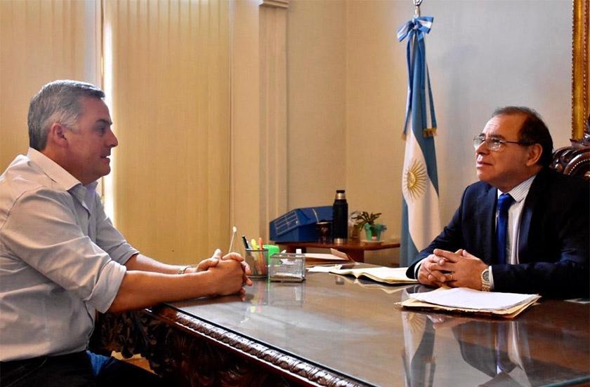 Chavez con Tassano por el tema Carnavales 2019