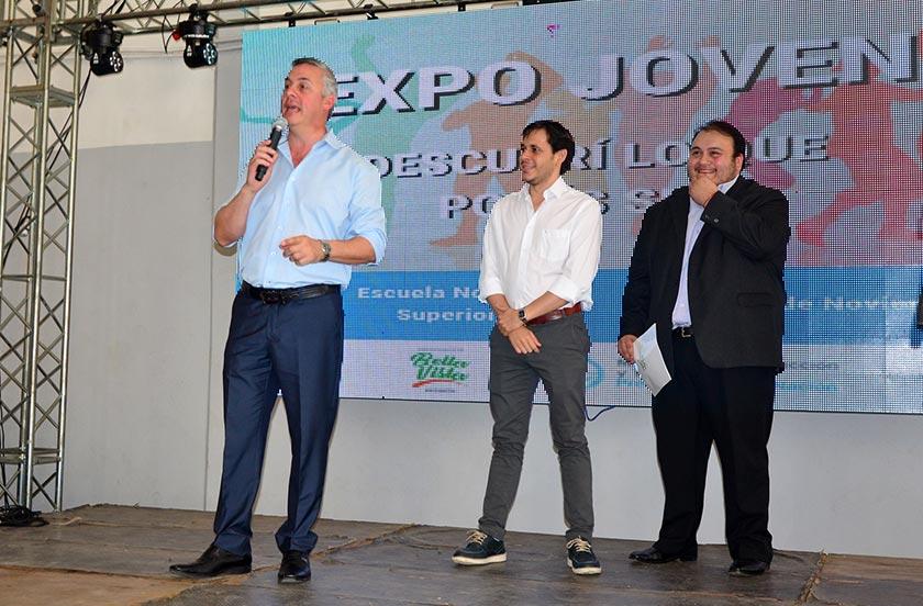 Inauguran Expo Joven 2018 con amplia oferta académica