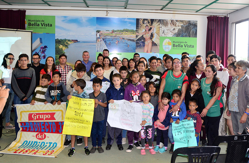 Bella Vista presentó a los ganadores del Presupuesto Participativo Joven