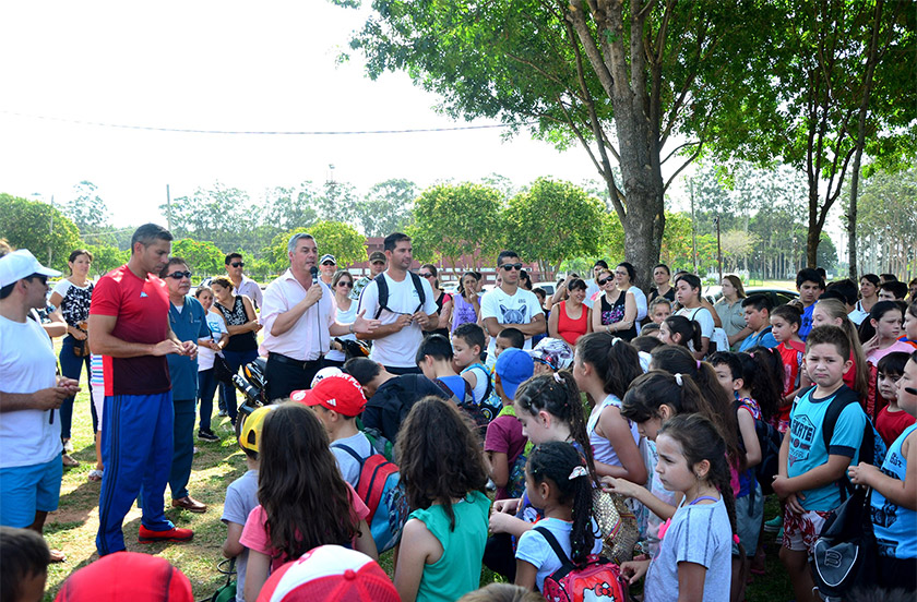 Bella Vista inauguró la Colonia de Vacaciones 2018/9