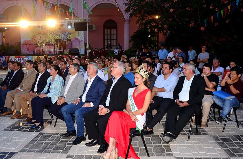 Chavez en la presentación del Teko Verano 2019