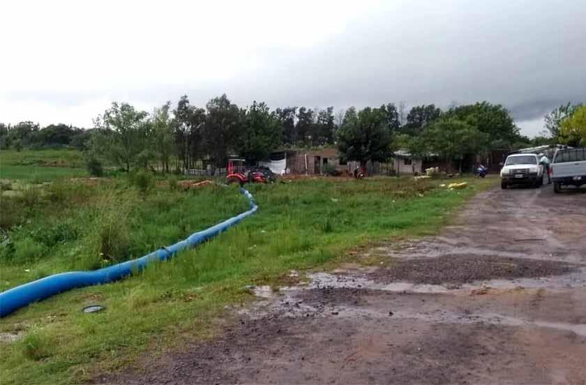 Las obras de desagües alivian la situación de Bella Vista