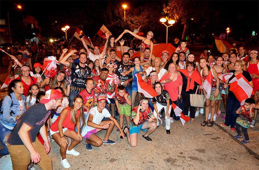Anahí es la campeona de los Carnavales de Bella Vista