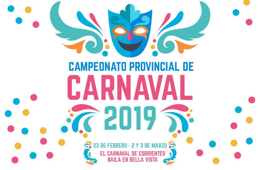 Anunciaron el Campeonato Provincial de Comparsas 2019