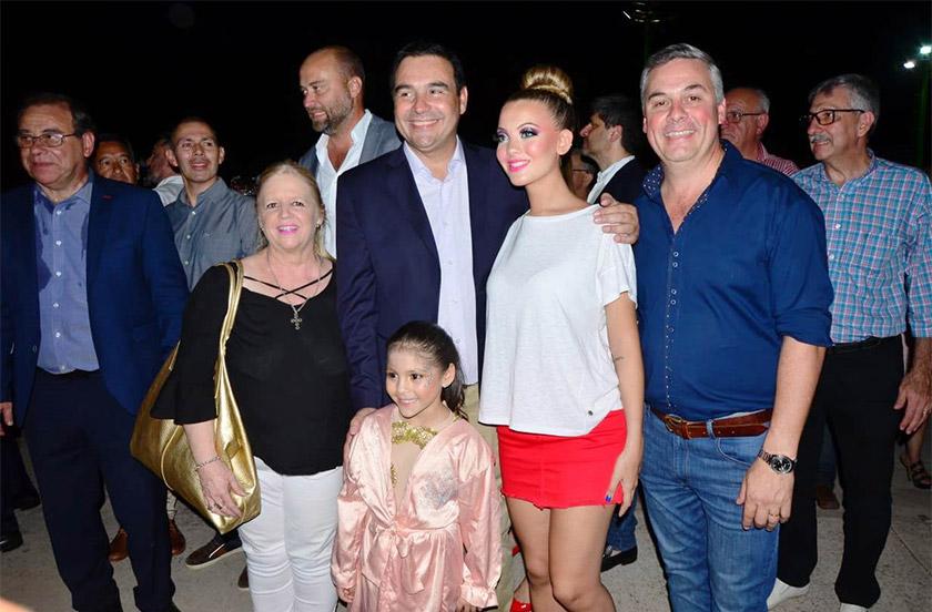 Bella Vista protagonista en la noche inaugural del carnaval correntino