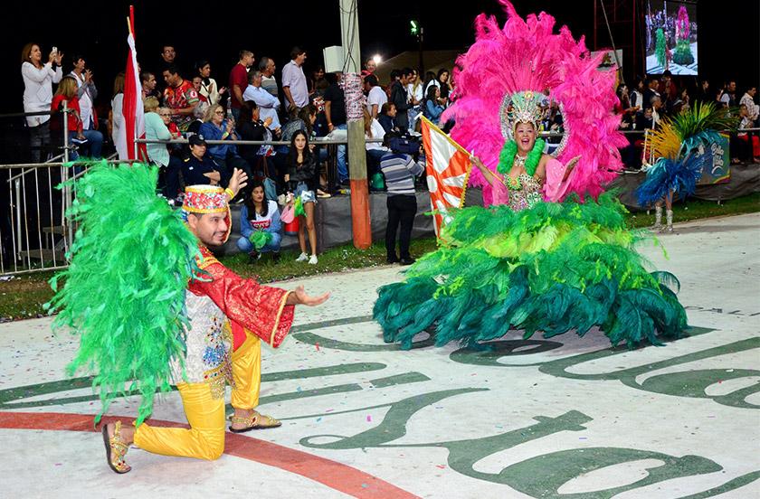 Finaliza la fiesta del carnaval de Bella Vista