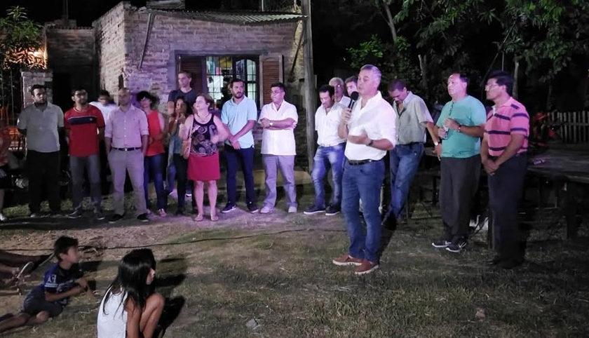 Operativo sanitario y social en Barrio Centenario