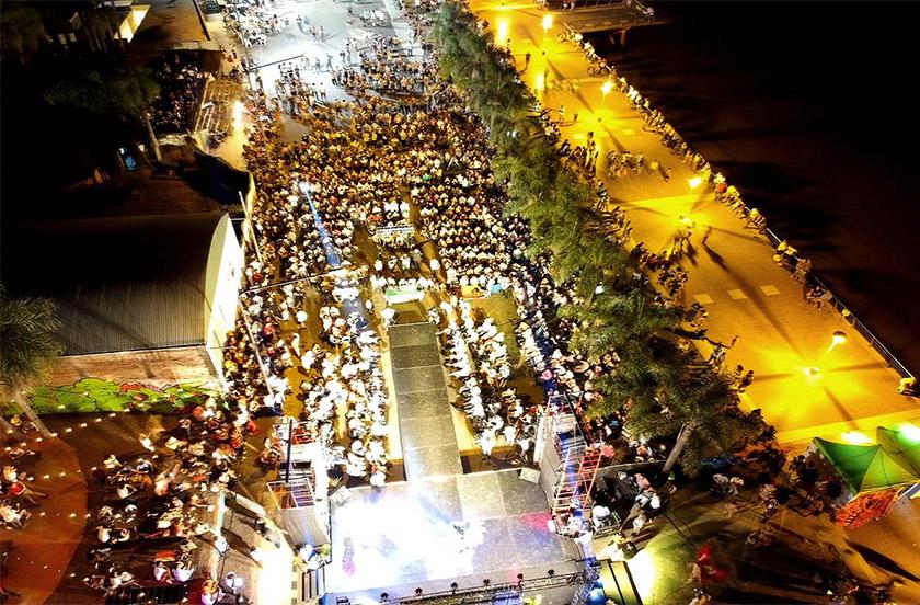 Bella Vista con mega fiesta de elección de Reyes del Carnaval