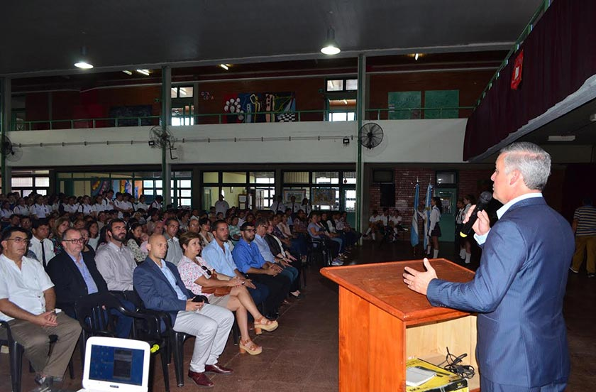 Chavez inauguró el Ciclo Lectivo Escolar 2019