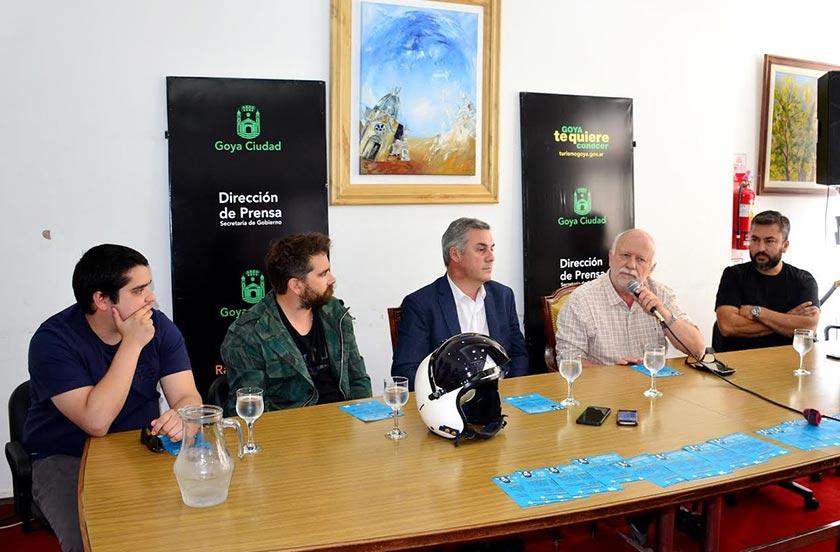 Bella Vista presentó en Goya el Encuentro Internacional de Motociclistas