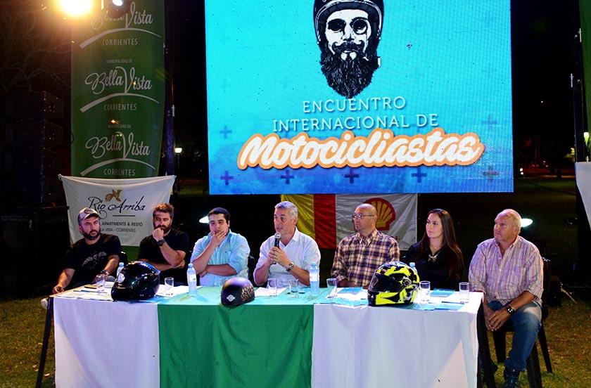 Presentaron el Encuentro Internacional de Motociclistas