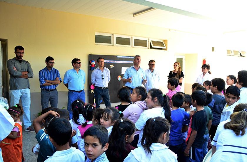 Actividades oficiales en Desmochado y Colonia Progreso