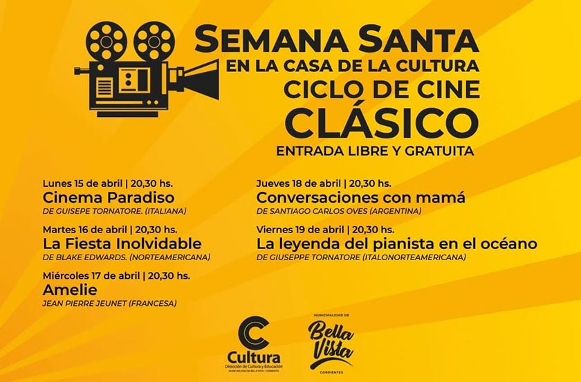 Anticipan cartelera de Cine de Semana Santa