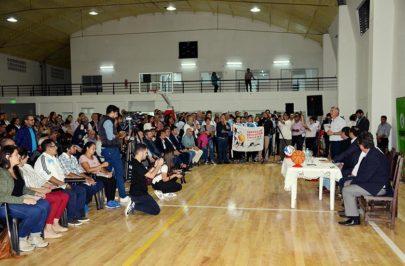 Gobierno y municipio reinauguraron el Club Juventud