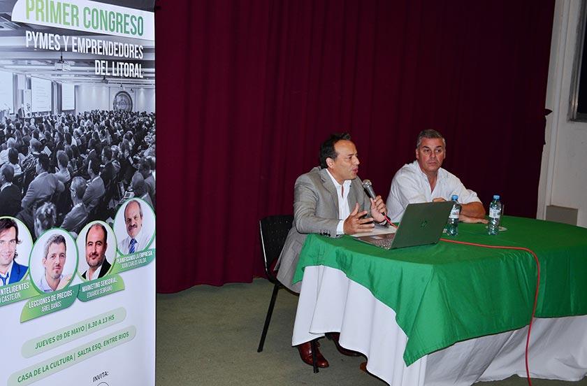 Bella Vista presentó el 1° Congreso para Pymes y Emprendedores
