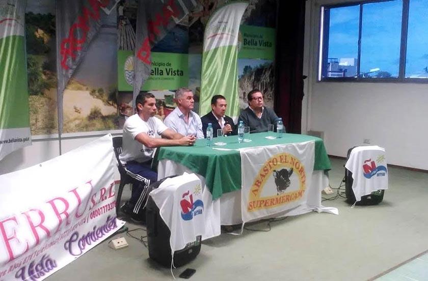 Presentaron la Copa Municipalidad de Bella Vista 2019