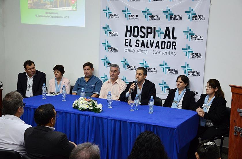 Exitosa jornada de control de infecciones hospitalarias