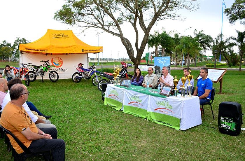 Presentaron el 1° Enduro Vuelta del Toropí