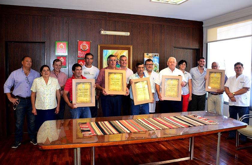 Reconocimiento oficial a 5 agentes jubilados