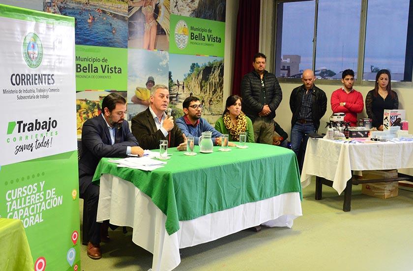 Bella Vista propone Cursos y Talleres de Capacitación Laboral