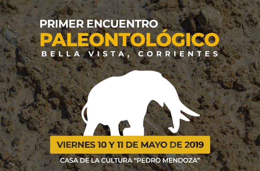 Programa del Primer Encuentro Provincial de Paleontología