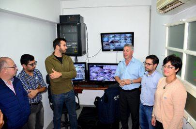 Chavez inauguró el Sistema de Monitoreo Urbano