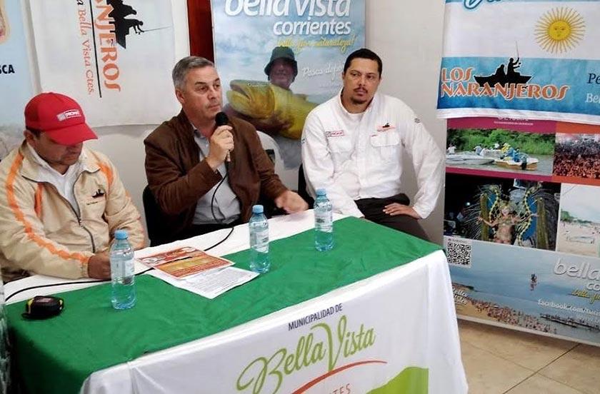 Presentaron el Concurso de Pesca en adhesión a la Fundación de Bella Vista