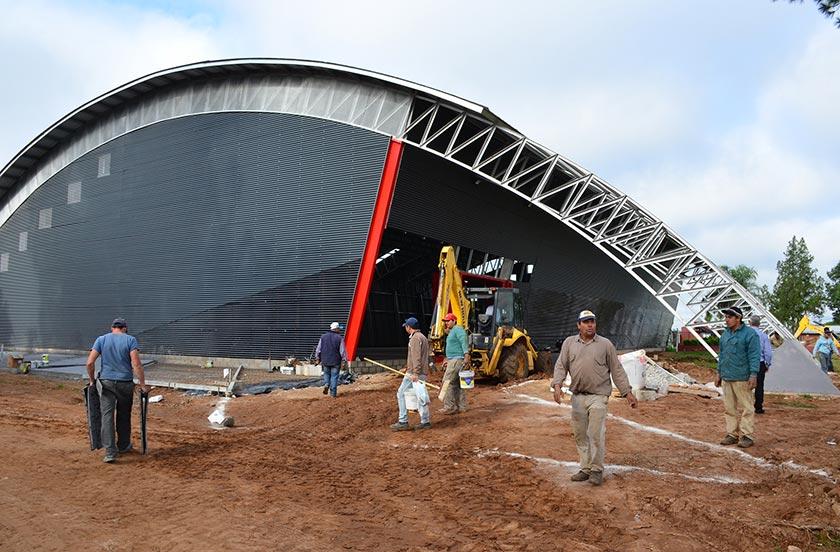 Preparan la inauguración del Estadio Ciudad