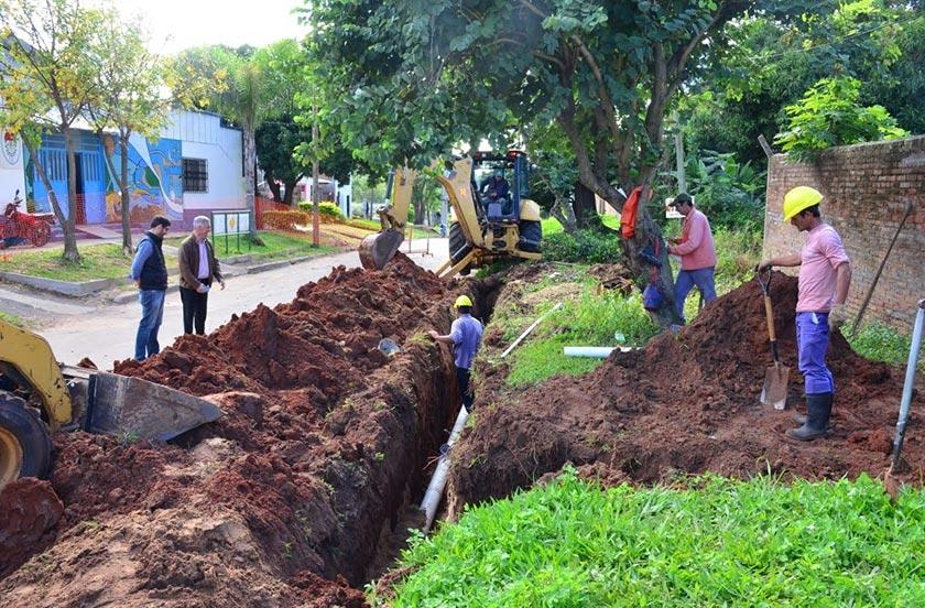 Autoridades municipales monitorean la obra del ProMeBa