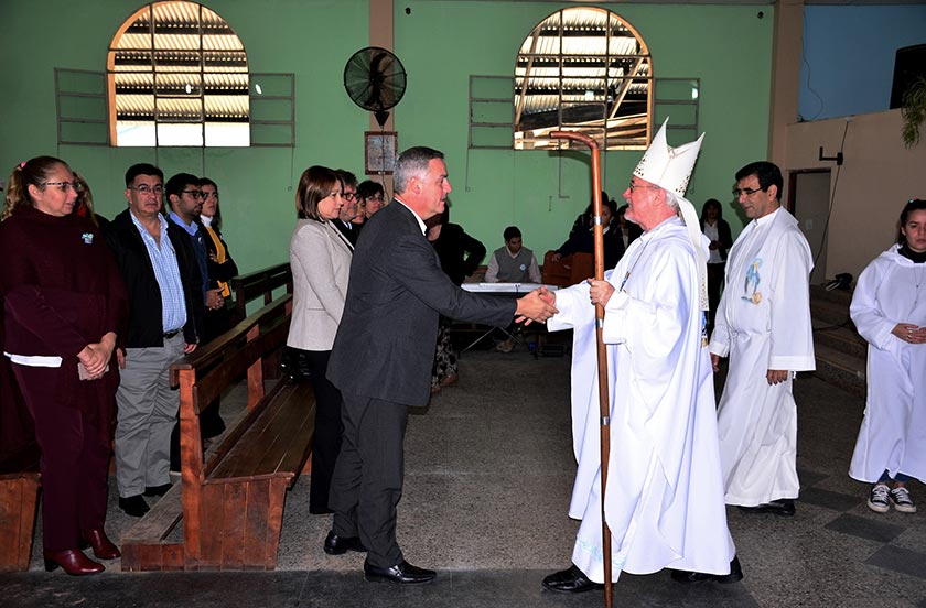 Stanovnik celebró junto a la comunidad de María Auxiliadora