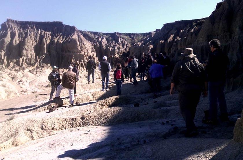 Bella Vista puso en valor el yacimiento fosilífero Toropí