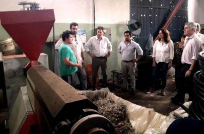 Autoridades provinciales y municipales visitaron la Cooperativa Agua Blanca