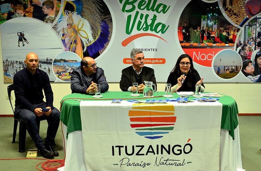 Ituzaingó promociona su XXIII Pesca Integración en Bella Vista